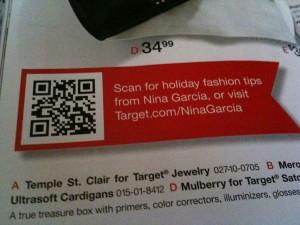 Target QR code